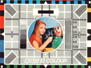 bbc-2 colour test card