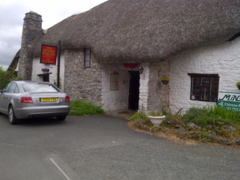 Old Mother Hubbard's Cottage (from the nursery rhyme) now a Chinese Takeaway